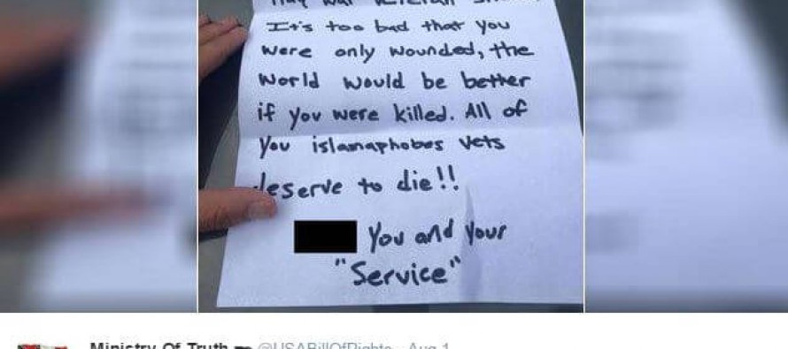 Purple Heart Vet Receives SICK Letter. READ His AMAZING Response!
