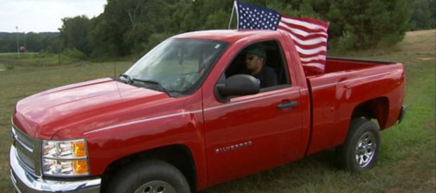 VIDEO: Students told to remove American flags from trucks