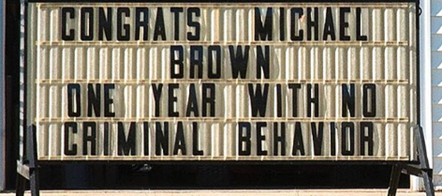 Business Owner Under Attack for This Sign About Michael Brown