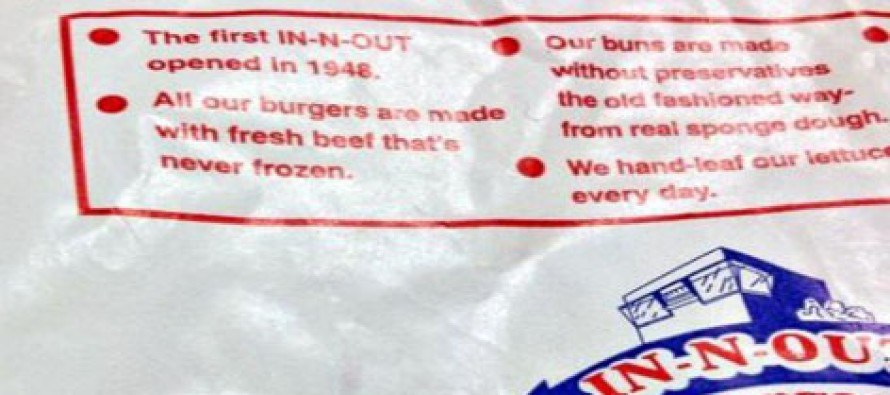In-N-Out Has A Very Clear, Hidden Message on the Bottom of Their Cups…