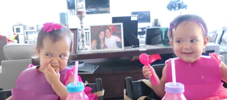 Twins Have Another Thing Coming Thinking Since They Can't See Mom, She Can't See Them…