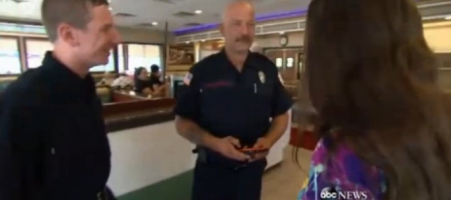 Server 'Overhears' Two Firefighters Talking Over Breakfast and Does THIS in Response