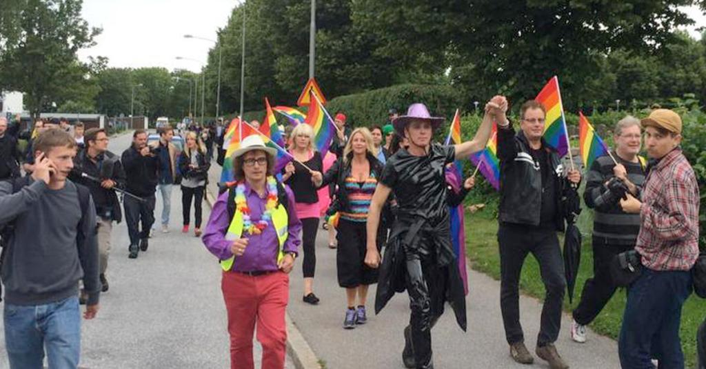 Sweden Gay March