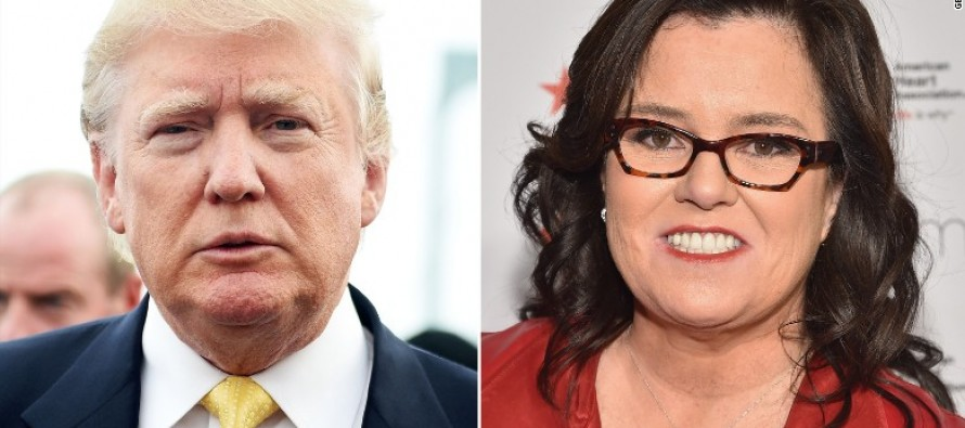 Rosie O'Donnell uses that time of the month as a classy message to a**h**** like Trump