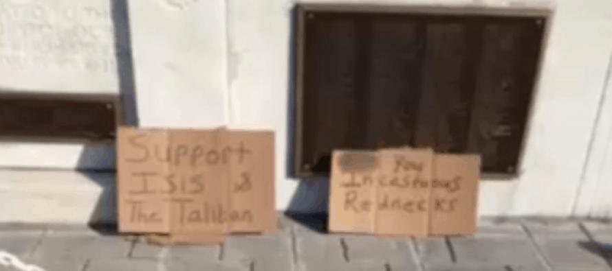 OUTRAGE: Terrorists Slander Military Veterans & K9 Vets at WVA War Memorial [Video]