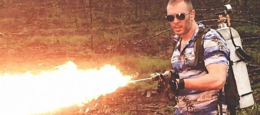 Would You Like to Buy Your Own Flamethrower?