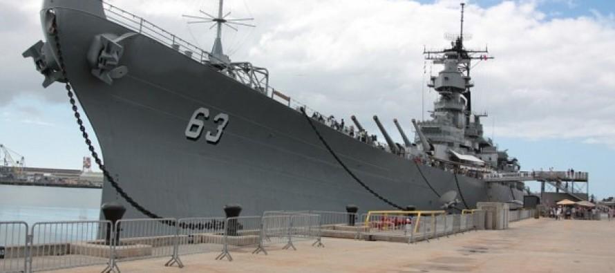 Fisherman Spends Three Years Building 'World's Biggest' Lego Model Of Warship USS Missouri