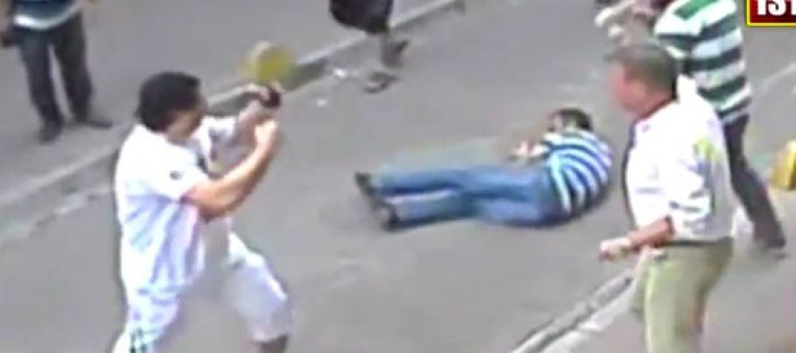 Watch Incredible Moment Irish Boxer Takes On An Entire Turkish Mob – And Wins