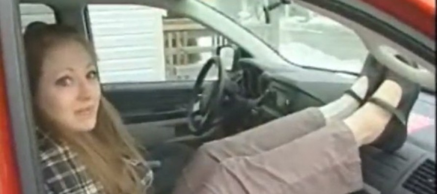 She Was Just Putting Her Feet on the Dashboard — And It Was One of the Biggest Mistakes of Her Life