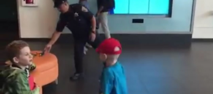 VIDEO: Police Officer Faces Off Against Boy With Cancer in Dance Off