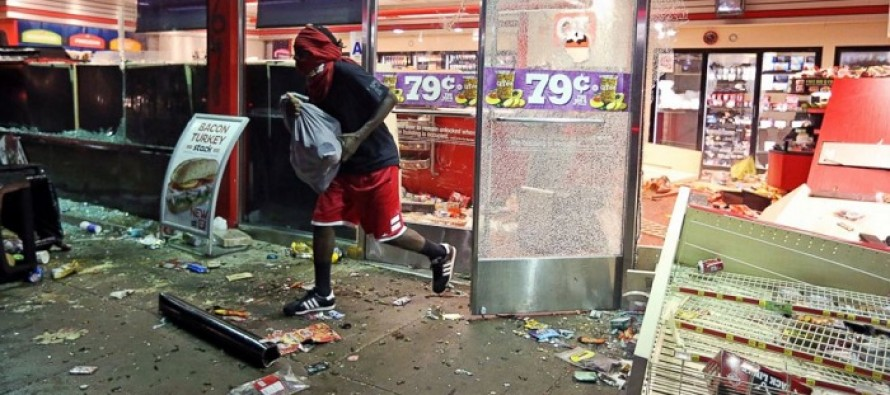 Ferguson Looters are Stealing Everything From Milk to Dogs