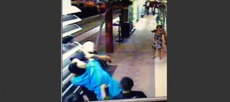 VIDEO: Three Punk Teens Jump an Old Man and A Bystander Hits Them With an AWESOME FLYING DROPKICK