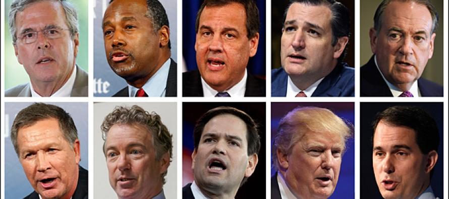 Analysis of the First Fox GOP Presidential Debate