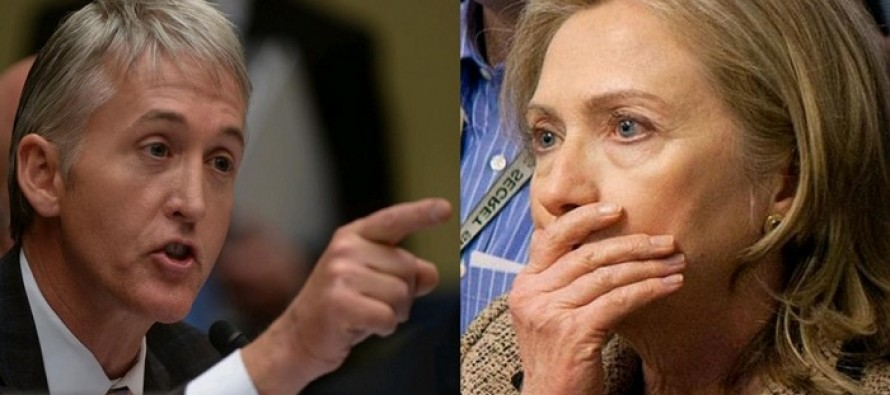 What Just Came Out of Trey Gowdy's Mouth is the Last Thing Hillary Wanted to Hear