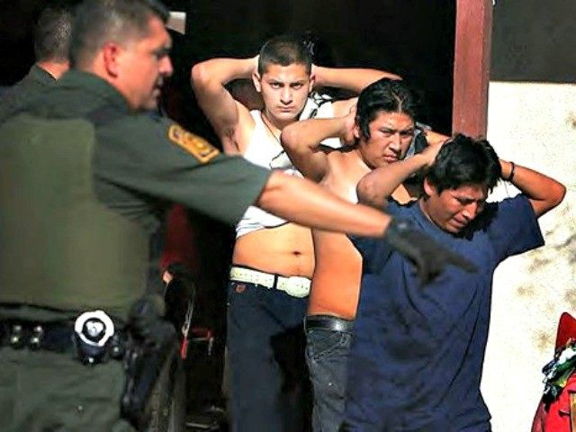 illegals crime