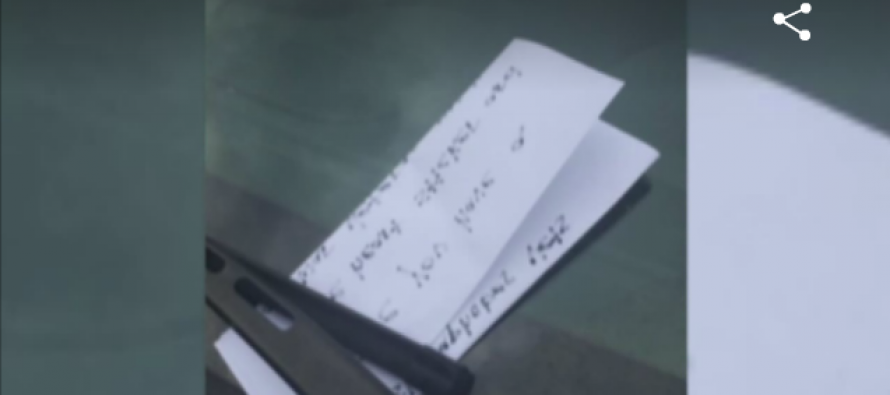 Veteran Finds Hateful Note On Car At Shopping Center