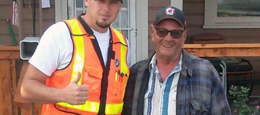 When Man Overhears Kids Mocking Elderly Man's Home, He Decides to Do Something About It