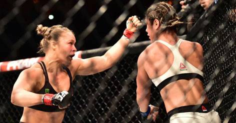 VIDEO: Ronda Rousey Puts Bethe Correia to Sleep in 34 Seconds