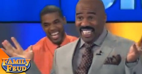"""VIDEO: Steve Harvey called this the """"greatest answer he's ever heard"""" and his reactions are just priceless"""