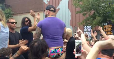 Foo Fighters Rick-Roll All Over Westboro Baptist Church In Expert Protest Troll