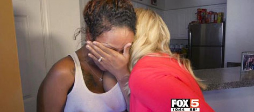 Expectant mother comes home to her house trashed… then this happen
