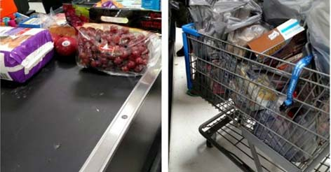 Man Compares His Cart With Another Shopper's…The Reason Why Has Americans TICKED