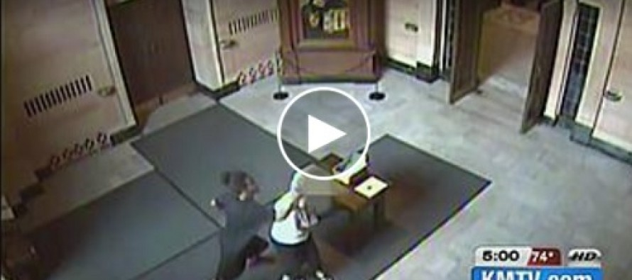 AWESOME: Aunt turns in thug who sucker-punched elderly woman in church!