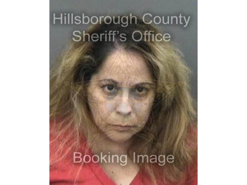 woman booked