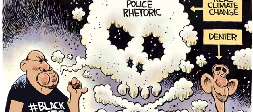 Anti Police Pollution (Cartoon)
