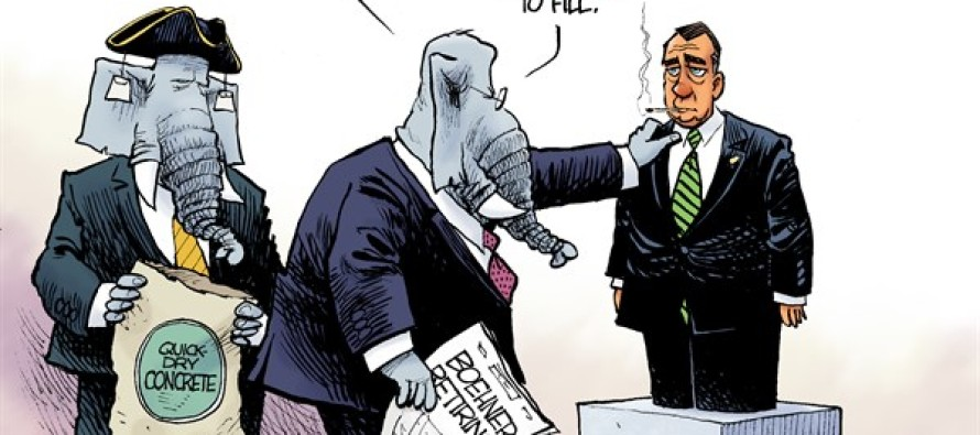 Bye-Bye Boehner (Cartoon)