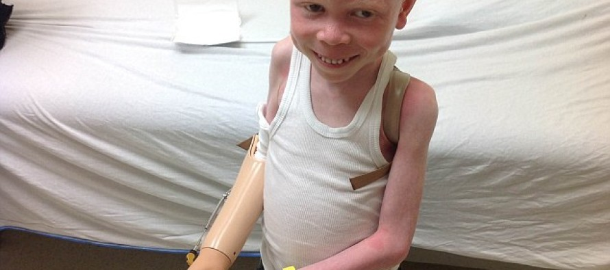 A 6-year-old Albino Boy Had His Hand Hacked Off By His FATHER So it Could Be Sold to a Witch Doctor