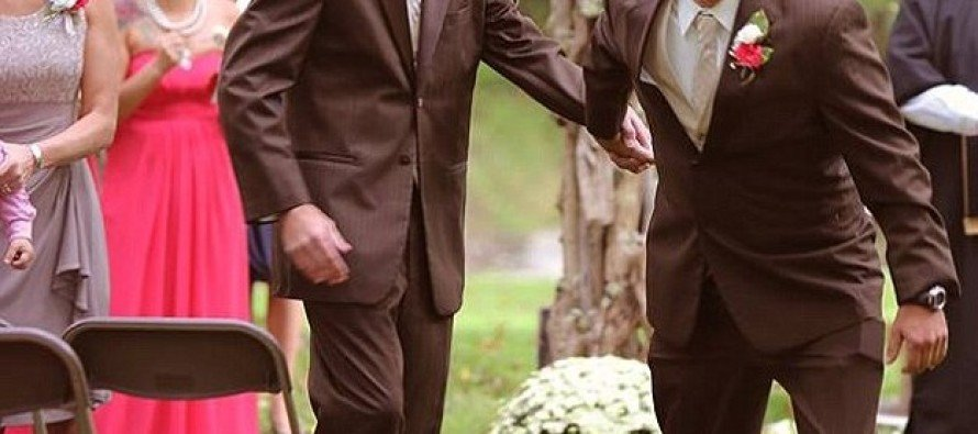 WOAH! WATCH This Feuding Dad Stop His Daughter's Wedding Ceremony To Approach Her Stepfather
