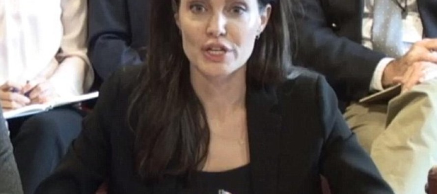 Angelina Jolie Speaks Out Against the Jihadists of ISIS & the Horror of Child Rape [Video]