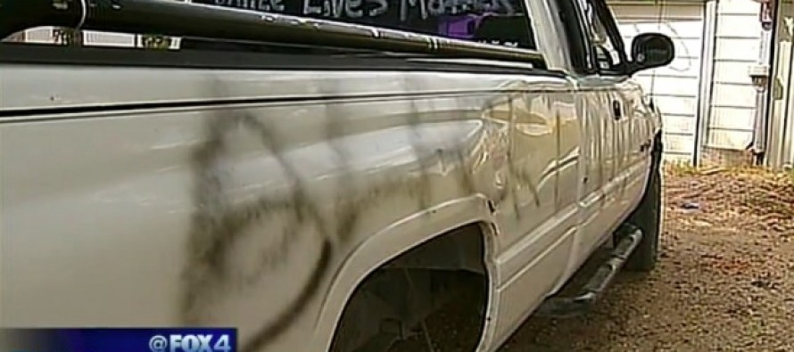 Busted: Texas Dad Accused of Vandalizing Own Truck & Blaming #BlackLivesMatter [Video]