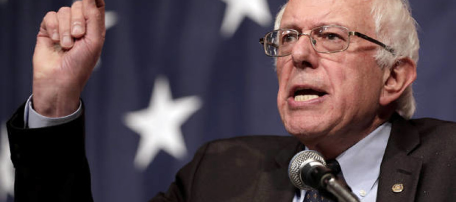 There's a new Dem front-runner… Feel the Bern: the rise of Socialist Sanders