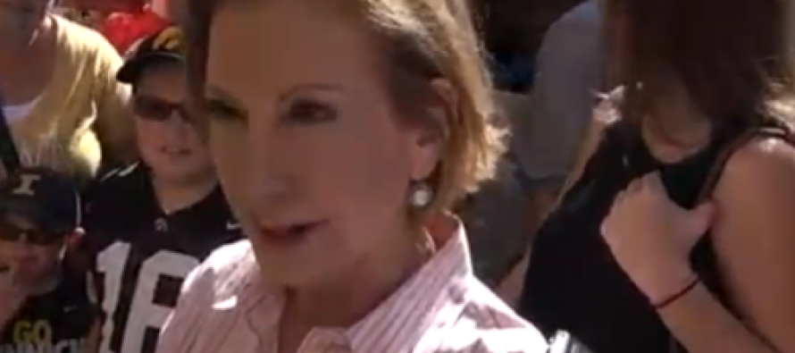 Enraged Pro-Abortion Radicals Throw a Fit: Hurl Condoms at Carly Fiorina Event [Video]
