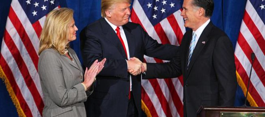 Romney Fail: Team Romney Looks to Take Out Former Big Supporter, Trump [Video]