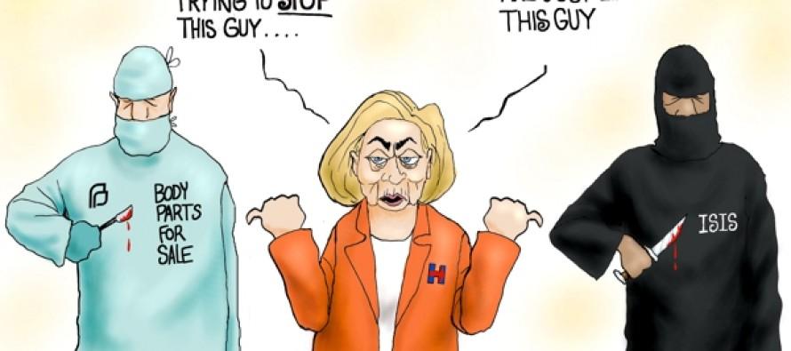Hillary World (Cartoon)