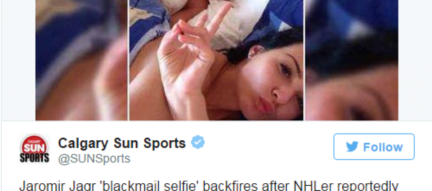 Just Perfect! Famous Hockey Player's Response to Model's Selfie Blackmail Goes Viral