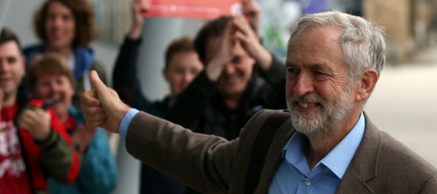 Shades of Socialist Sanders: Leftist Corbyn Ascends as Leader of Britain's Labour Party