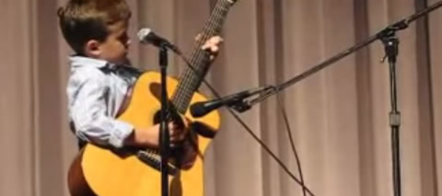 2nd grader does jaw-dropping version of a Johnny Cash song
