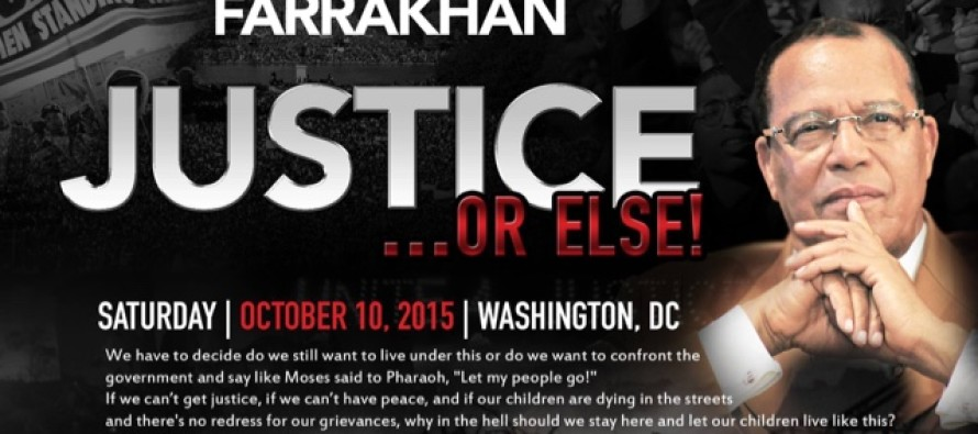 "Farrakahn – Justice Or Else!: The whole American system ""has to be taken down"" [Video]"