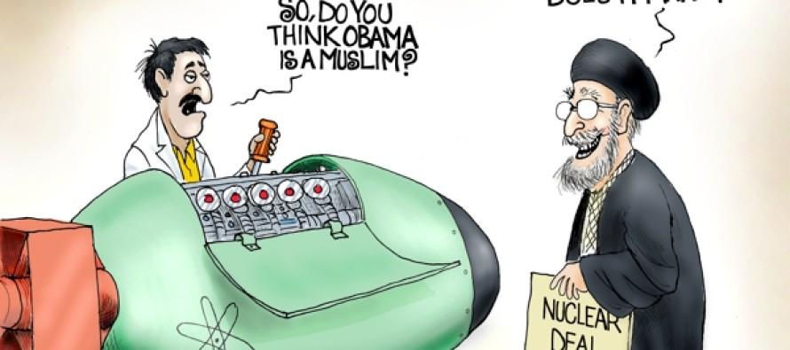 Obama Muslim Question (Cartoon)