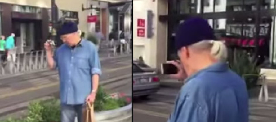 Paedophile Caught Filming Young Girls Is Confronted By Eagle-Eyed Citizen
