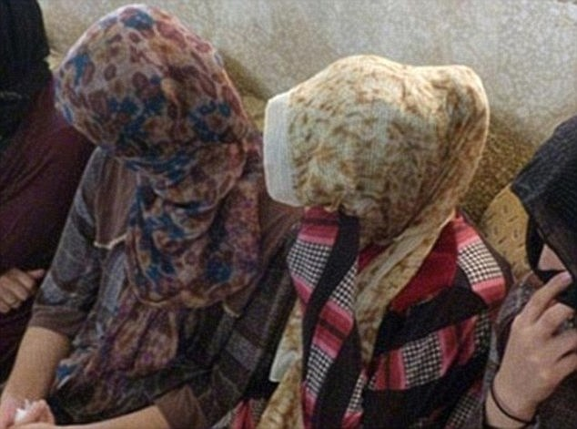 Human trafficking: Abu Abdullah bought nine women and girls - including the Yazidi teenager - from a slave market in Raqqa, Syria, but sold seven of them on.