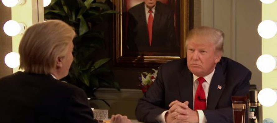 This is hysterical! Donald Trump Interviews Himself on the Tonight Show – It's Huge!! [Video]