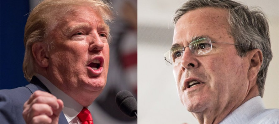 [VIDEO] Trump DESTROYS Jeb On Illegal Immigration With Brutal New Ad!