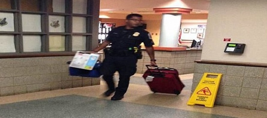 Police Officer Pays For A Homeless Woman And Her Daughter To Stay In A Hotel To Keep Them Off The Streets