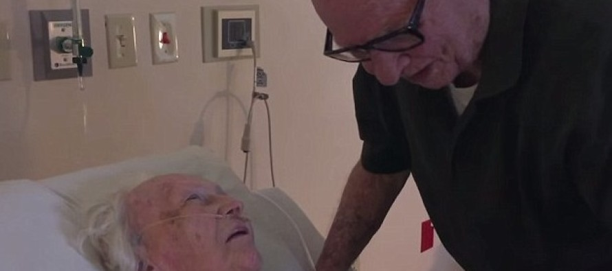VIDEO: 92-Year-Old Man Serenades His Dying Wife With A Love Song