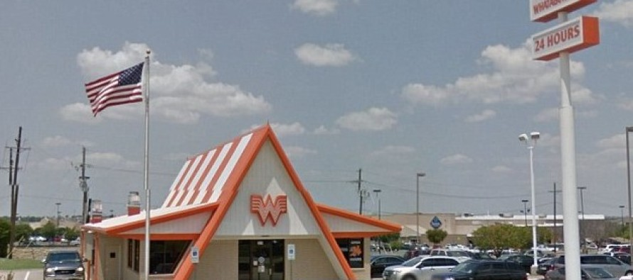 Two police officers DENIED service at a Texas Whataburger when ridiculous manager says the fast-food chain 'doesn't serve cops'
